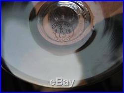 2096 9 verres en cristal de baccarat roemer piccadilly signé