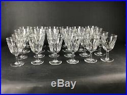 24 verres en cristal de Baccarat