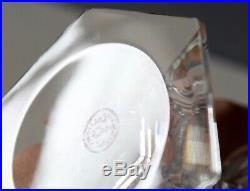 2 verres à eau cristal de baccarat modèle Harcourt signés H 15.5 cm état neuf