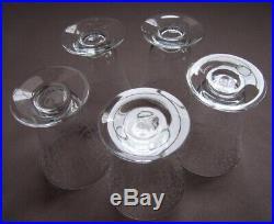 5 Verres en Cristal de Baccarat 8,3 cm Service Michelangelo