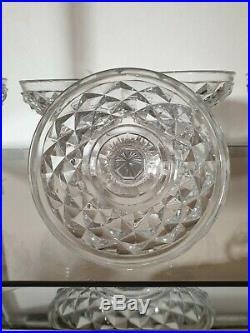 6 Coupes Champagne En Cristal Taillé Epoque Restauration Baccarat ou le Creusot