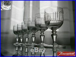 6 Verres A Vin En Cristal Baccarat Modele Renaissance Signes