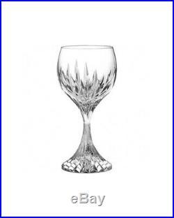 6 Verres vin rouge Masséna numero 3 neufs cristal Baccarat
