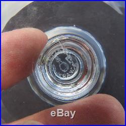 6 verre à eau en cristal de baccarat modèle piccadilly signé