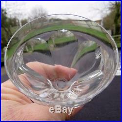 6 verres à eau en cristal de baccarat modèle Talleyrand signé