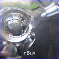 6 verres à eau en cristal de baccarat modèle Talleyrand signé lot 2