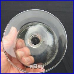 6 verres a eau en cristal gravé de baccarat modèle type rohan H 9,8 cm