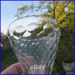 6 verres à vin en cristal de baccarat modèle écaille signé