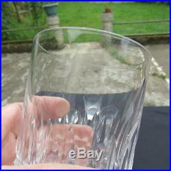 6 verres à whisky en cristal de Baccarat modèle piccadilly buckingham