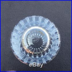 6 verres / chopes à orangeade en cristal de baccarat harmonie signé H 14 CM