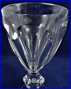 6 verres eau cristal Baccarat Harcourt Réf A26/26 15,3 cm water glasses