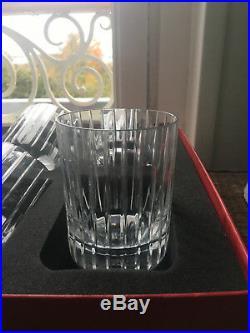 6 verres whisky cristal BACCARAT Harmonie état parfait emballage origine
