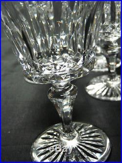 7 verres à eau Baccarat cristal taille Buckingham signes tres bel etat h 13,5cm