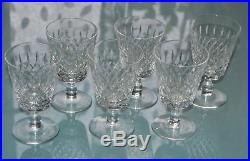 Ancien 6 Verres A Eau Cristal Taille Baccarat Diamants Et Biseaux Catalogue 1916