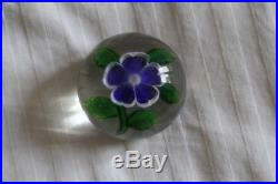 Ancienne Boule Presse-papiers Baccarat Old French Baccarat Paperweight
