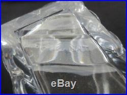 BACCARAT Centre de table cristal, 12 éléments modèle BAMBOU XX°