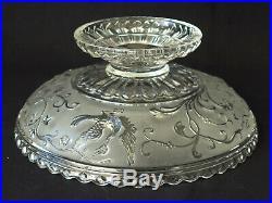 BACCARAT Coupe à Fruits en Cristal Moulé vers 1900