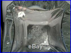 BACCARAT PERFECTION CARAFE A WHISKY CRISTAL 21 cm