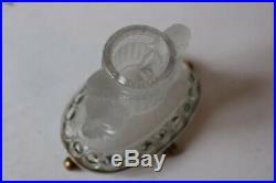 BACCARAT Porte allumettes cure-dents en cristal (28576)