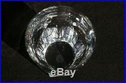 BACCARAT modèle HARCOURT 3 Verres Cristal taillé Gobelets WHISKY H 10,4cm