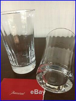 Baccarat 11 verres orangeade mille nuit en cristal de Baccarat