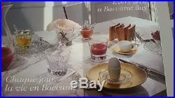Baccarat 6 Verres Gobelets Everyday Classic Parfait Etat Neuf