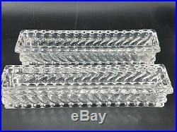 Baccarat Ancien grand surtout de table cristal 8 pieces