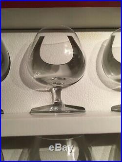 Baccarat Coffret 6 Verres A Cognac Modele Perfection