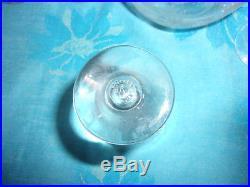 Baccarat Elisabeth / Millefiori Service Liqueur Carafe +10 Verres Estampille