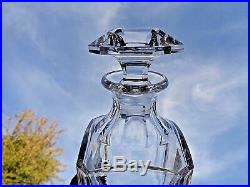 Baccarat Harcourt Perfection Whiskey Decanter Carafe A Whisky Cristal Taillé