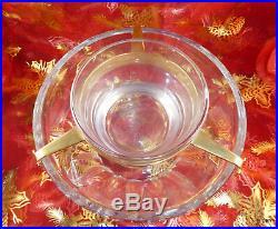 Baccarat Important Rafraichissoir A Caviar Cristal Massif