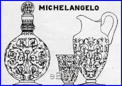 Baccarat Michelangelo Michel Ange 6 Wine Glasses 6 Verres A Vin Cristal Gravé
