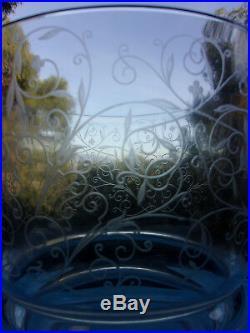 Baccarat Michelangelogrand Vase 19,5cm Diam15,5cm Estampille Magnifique Etat
