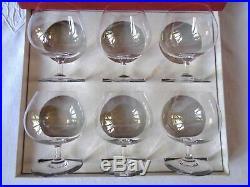 Baccarat Perfection 6 Brandy Cherry Glasses Glass Verres A Cognac Cristal Unis