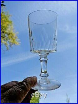 Baccarat Richelieu Champigny 12 Wine Glasses Verres A Vin Cristal Taillé 5777