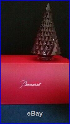 Baccarat Sapin De Noel Diamant Rouge Neuf Millesime 2014