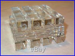 Baccarat Service De 12 Portes Couteaux En Cristal Baccarat Etat Neuf