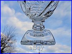 Baccarat Vase Cristal Taillé Empire Restauration 19éme 19 Éme Xixéme XIX Éme 850