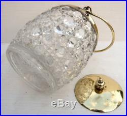 Beau SEAU À BISCUITS en Cristal de BACCARAT