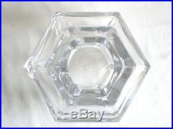 Beau Vase En Cristal De Baccarat Annees 60/70