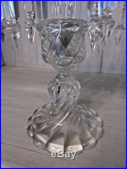 Bougeoir en cristal de baccarat