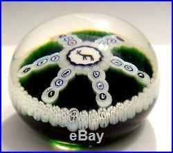Boule Presse Papier Cristal Baccarat Sulfure Gridel Marque Etude Avec Sa Boite