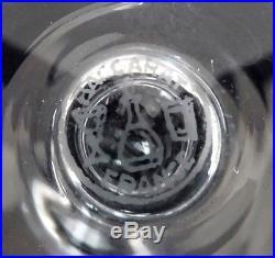 CRISTAL DE BACCARAT 6 verres à eau, modèle PERFECTION, couronne de Baron