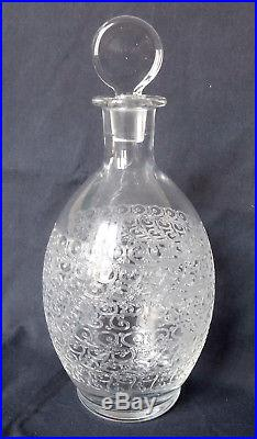 CRISTAL de BACCARAT Carafe à vin, modèle Gouvieux ROHAN
