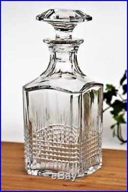 Carafe à whisky en cristal de Baccarat modèle Nancy