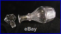 Carafe en cristal de Baccarat modèle Harcourt