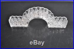 Centres de table chemin de table en cristal moulé de Baccarat