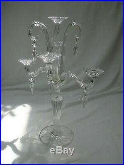 Chandeliers Candélabre Cristal Baccarat Mille Nuits 5 bougies