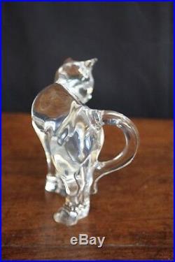 Chat en cristal de Baccarat