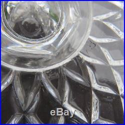 Coupe compotier en cristal de baccarat signée
